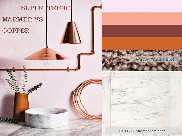 Super trend copper marmer